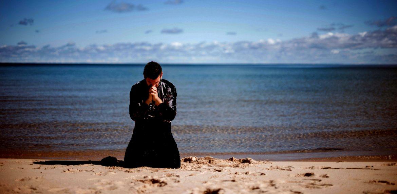 Jonah on Beach