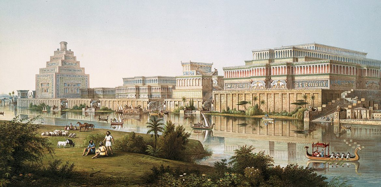 Artist Rendering of Nineveh